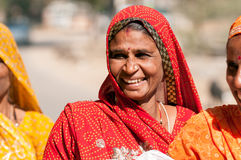 Rajasthani smile Royalty Free Stock Photo