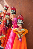 Rajasthani String Puppets Royalty Free Stock Photo