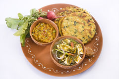 Rajasthani Thali Royalty Free Stock Photo