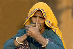 Rajasthani village life 1 Royalty Free Stock Images