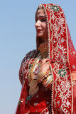 Rajasthani woman Stock Photo