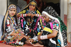 Rajasthani Women Royalty Free Stock Photography