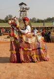 Rajathani Volkkünstler Stockfotografie