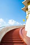 Rajavaramahavihara del saket di Wat, Bangkok, Tailandia Immagini Stock Libere da Diritti