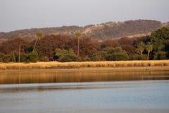 Rajbagh Lake, Ranthambore national park, Rajasthan, India. Rajbagh Lake, Ranthambore national park in Rajasthan, India stock images