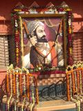 Raje Shivaji royaltyfria bilder