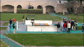 Rajghat stock footage