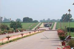 Rajghat historical site New Delhi India. Rajghat is a memorial dedicated to Mahatma Gandhi in New Delhi India Royalty Free Stock Image