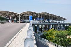 Rajiv Gandhi International Airport. In Hyderabad, India Royalty Free Stock Photo