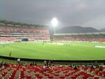 Rajiv Gandhi international cricket stadium stock photography