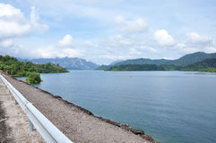 Rajjaprapha Dam in Surat Thani, Thailand Stock Image