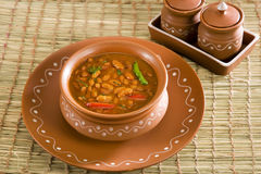Rajma or Red kidney beans. Indian Dish Royalty Free Stock Photography