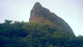 Rajmachi fort Arkivbild