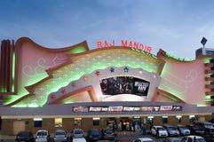 Rajmandir movie theater in Jaipur India Royalty Free Stock Photo