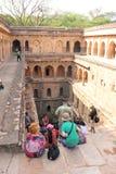 Rajon Ki Baoli - Paso-pozos de la India Foto de archivo