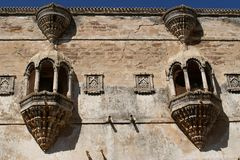 Rajput architecture from Gujarat, India Royalty Free Stock Image