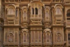 Rajput Architecture in Jaisalmer, India Royalty Free Stock Photo
