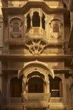 Rajput Architecture in Jaisalmer, India Stock Image