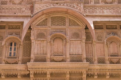 Rajput Palace Royalty Free Stock Photography