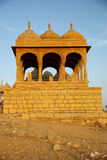 Rajput tomb, Rajasthan. Rajput tomb in Jaisalmer in Rajasthan, India Stock Image