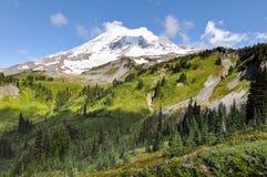 Raju ślad w góra Dżdżystym parku narodowym, Waszyngton, usa obrazy stock