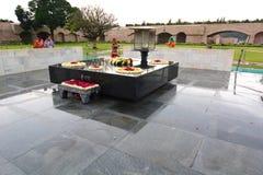 Raju Ghat pomnik delikatesy indu zdjęcie royalty free