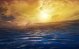 Raju niebo Światło w niebie Dramatyczny natury tło jak niebo Zdjęcia Stock