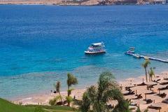 raju plażowy morze Fotografia Stock