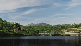 Rak de Baan thaïlandais dans Mae Hong Son Thaïlande photographie stock libre de droits