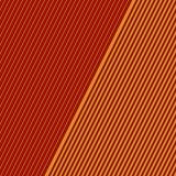 Rak diagonal tunn linje abstrakt begreppbakgrund Randig geometrisk bakgrund Modell i röda och gula färger Royaltyfri Foto