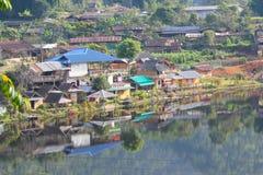 Rak Mae Hong Son tailandés de la prohibición Imagen de archivo libre de regalías