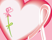 rak piersi świadomości Obraz Stock