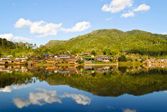 Rak Thai Village Stock Image
