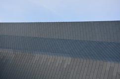 Raka linjer arkitektur Arkivbild