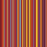 Raka vertikala variabla breddband för Retro färg Royaltyfria Bilder