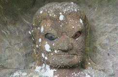 Rakan head statue at Nihon ji temple in Japan Stock Images