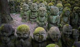 Rakan-Skulpturen Stockbild