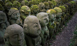Rakan-Skulpturen Stockfotografie