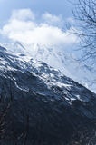 Rakaposhi góry i szczyt Zdjęcie Royalty Free