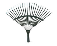 Rake isolated Royalty Free Stock Image
