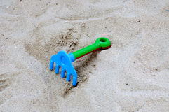 Rake  toy Stock Images