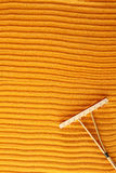 Rake in Zen Garden Royalty Free Stock Photos
