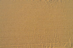Raked Sand For Use As A Background Or Backdrop Royalty Free Stock Photography