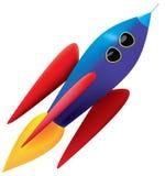 Raket! arkivfoton