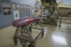 Raket-drev Nike rp-76 uppsätta som mål surr royaltyfria bilder