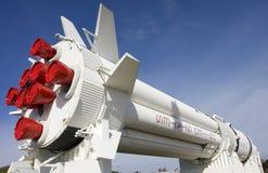 Raket in Kennedy Space Center, Florida stock fotografie