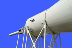 Raket Mercury-Redstone op vertoning in Kennedy Space Centre royalty-vrije stock foto's