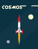 raketavstånd Royaltyfri Fotografi
