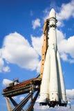 raketspaceship Royaltyfria Bilder