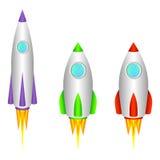 Raketten. Stock Afbeeldingen